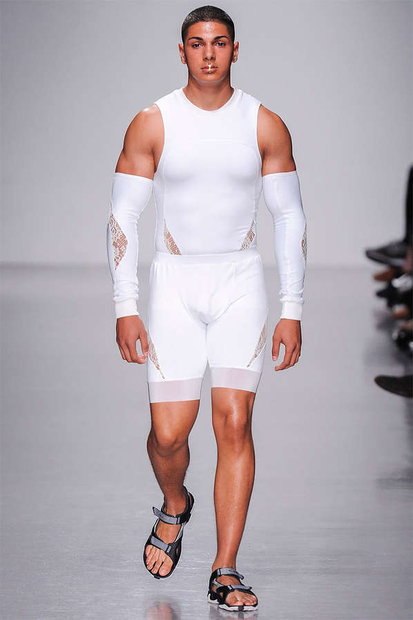 Suggestive Spandex Runways