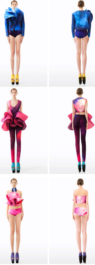 High Fashion Cosmic Collections