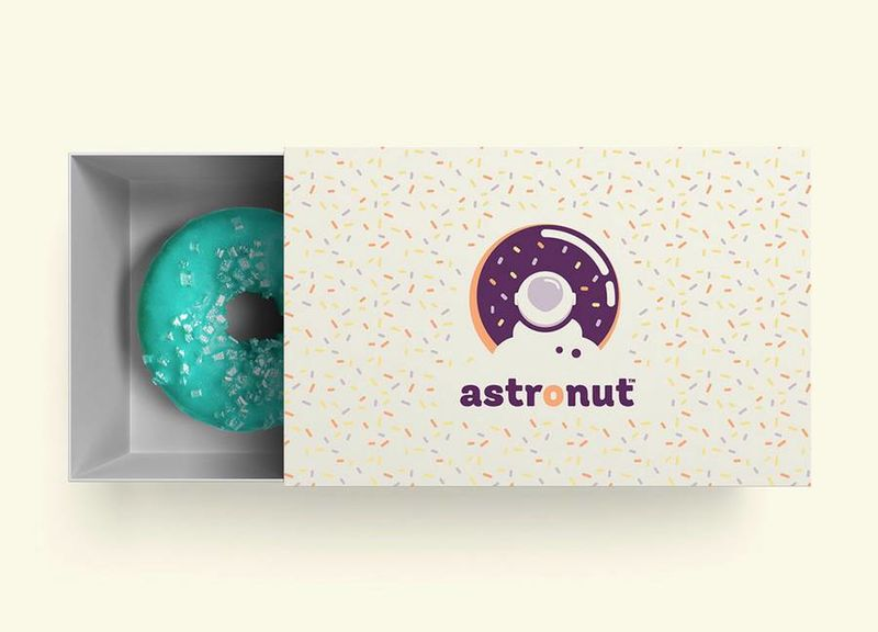 Intergalactic Donut Branding