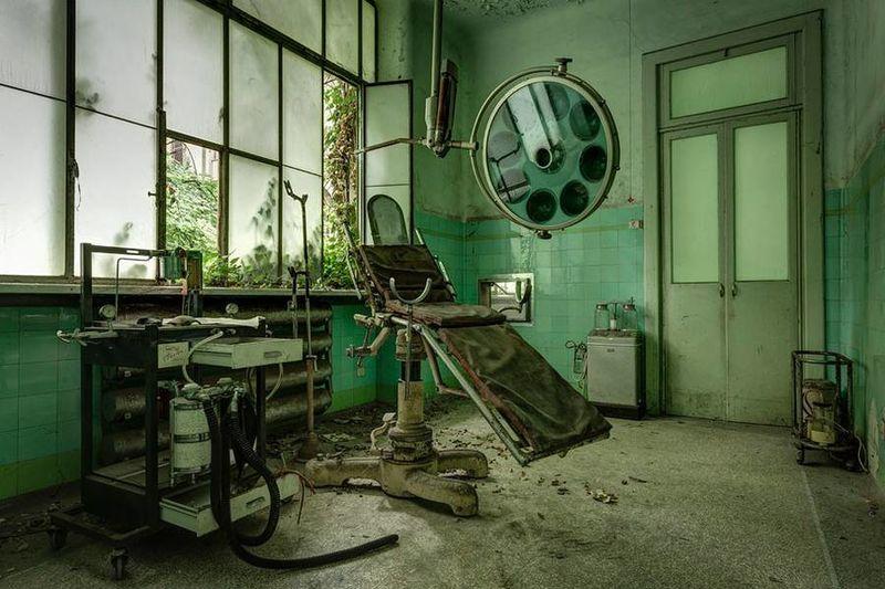Eerie Asylum Photography