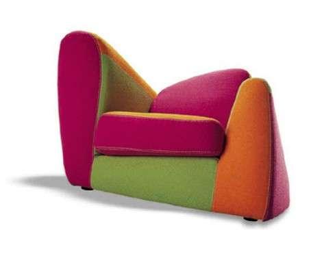 Asymmetrical Armchairs