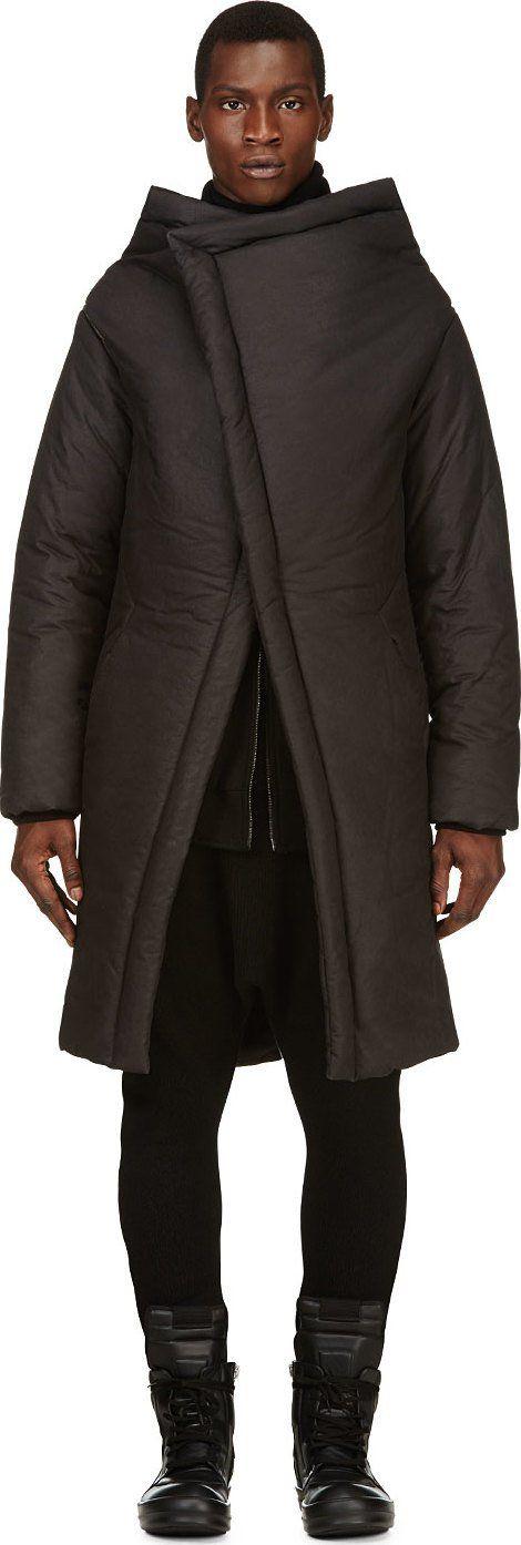 Layered Asymmetrical Coats
