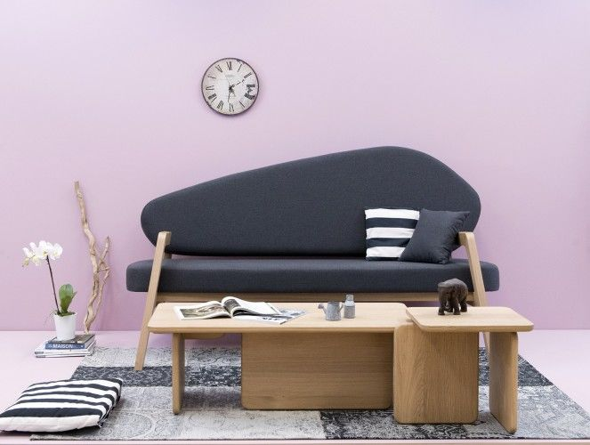 Minimalist Asymmetrical Sofas