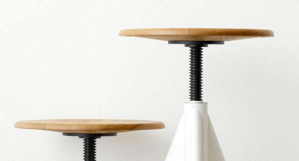 Bright Swiveling Stools