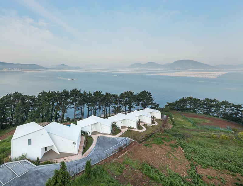 Angular-Formed Houses