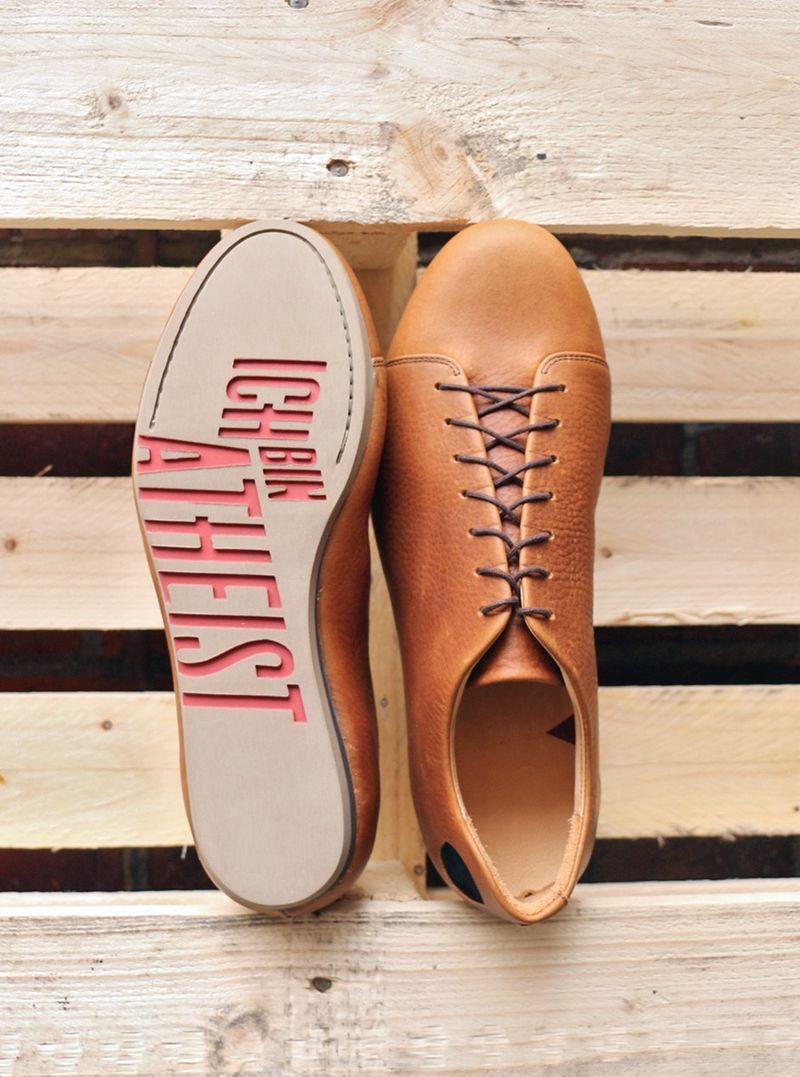 Atheism-Touting Sneakers