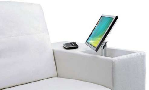 LCD-Embedded Sofas