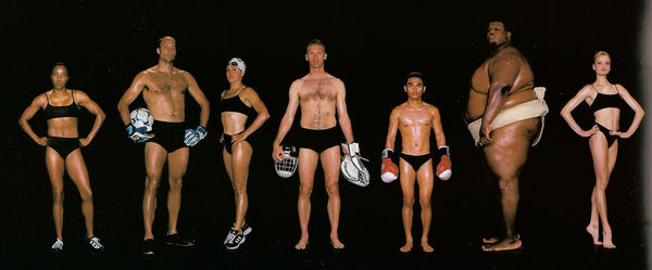 Diverse Olympic Body Shoots