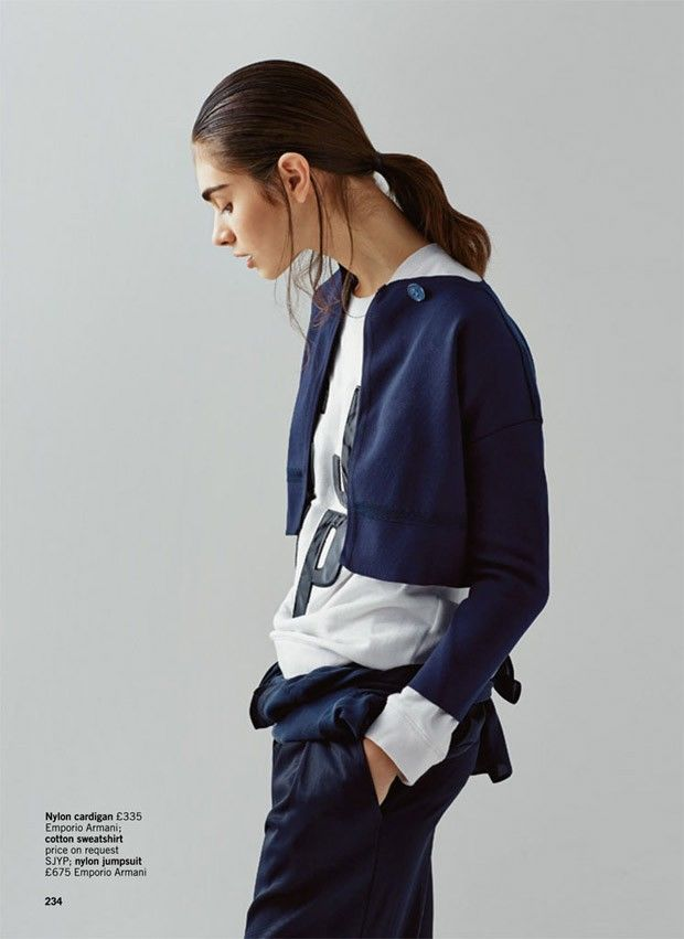 Sporty Urbanite Editorials