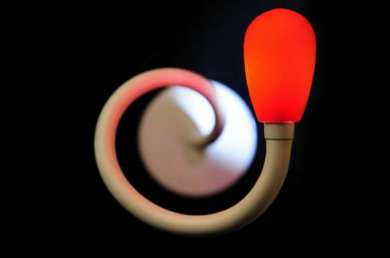 Swirling Bedside Illuminators