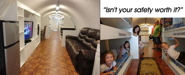 Swanky Bomb Bunkers Atlas Survival Shelters