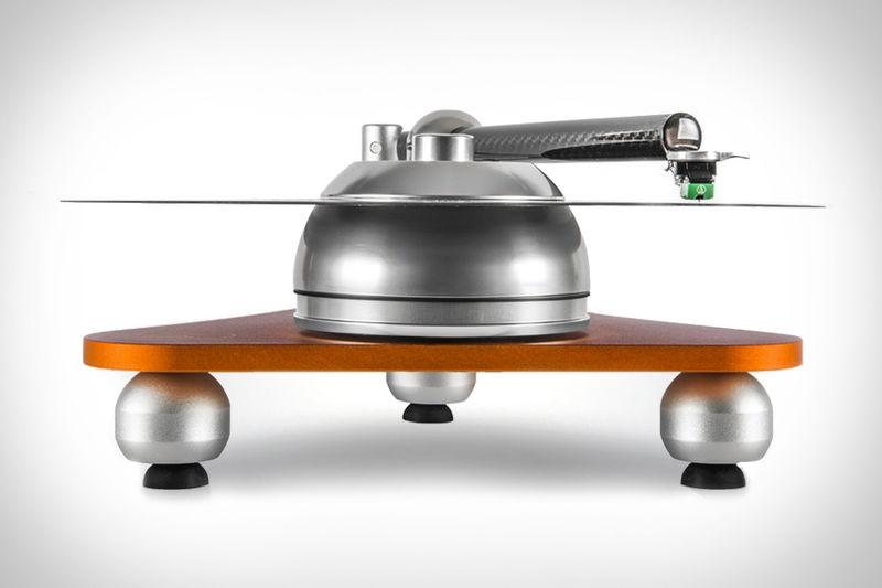 Futuristic Platterless Turntables