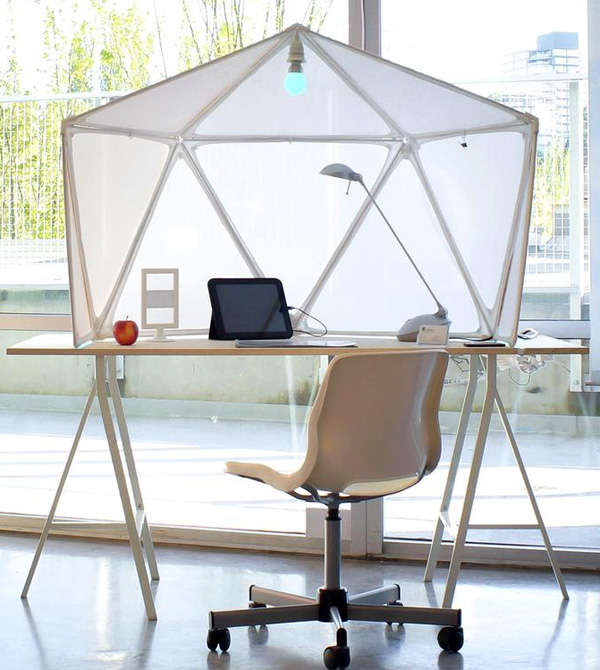 Tent-Like Workstations