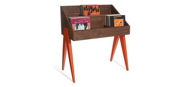 modern home vinyl displays atocha design record stand. Black Bedroom Furniture Sets. Home Design Ideas