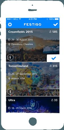 Music Festival Networking Apps