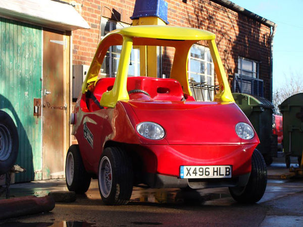 Adult-Sized Toy Cars