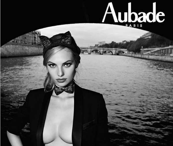 French Canal Lingerie Editorials Aubade Fall Winter 2012