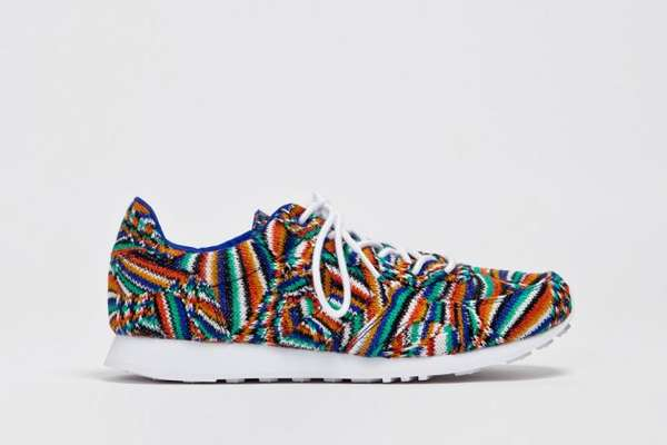 Vibrantly Knitted Sneakers