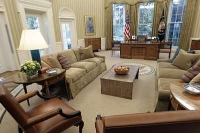 Oval Office Makeovers