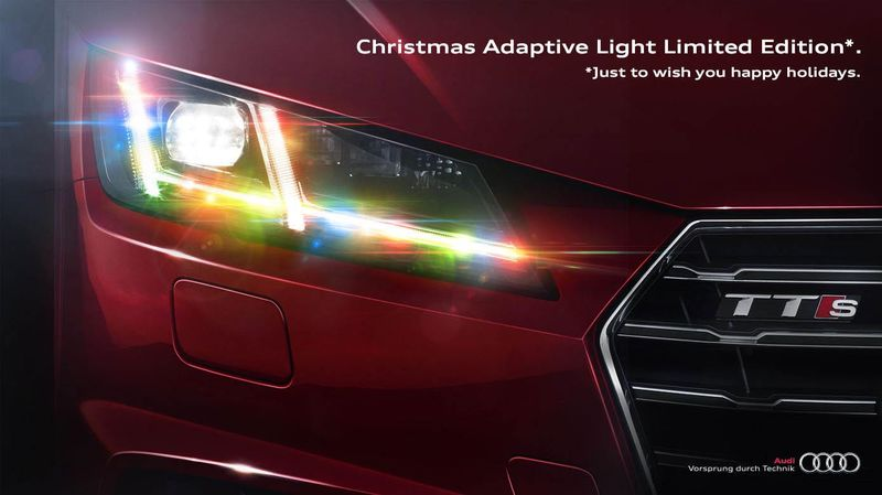 Festive Headlight Ads