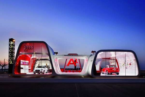 Audi AreA1 exhibit
