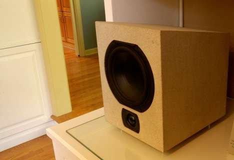 Stone Slab Speakers