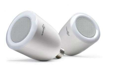 AudioBulb Wireless Speaker Light Bulbs