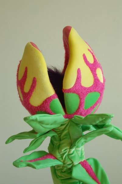 Evil Plant Puppets