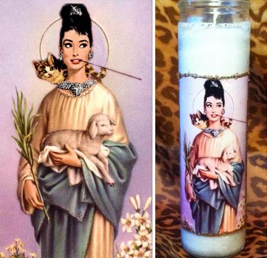 Saintly Actress Candles