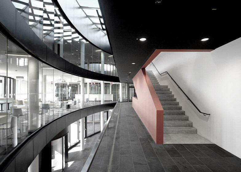 Sleek Cylindrical Headquarters