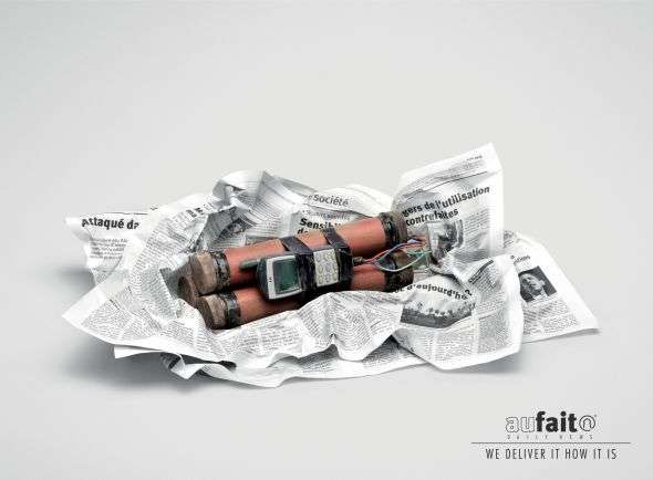 Explosive Newspaper Campaigns