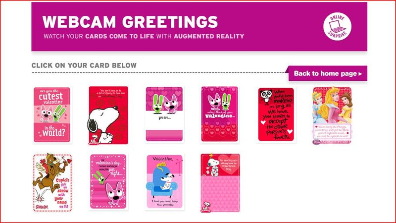 Webcam ready valentines hallmark introduces augmented reality webcam ready valentines hallmark introduces augmented reality greeting cards m4hsunfo