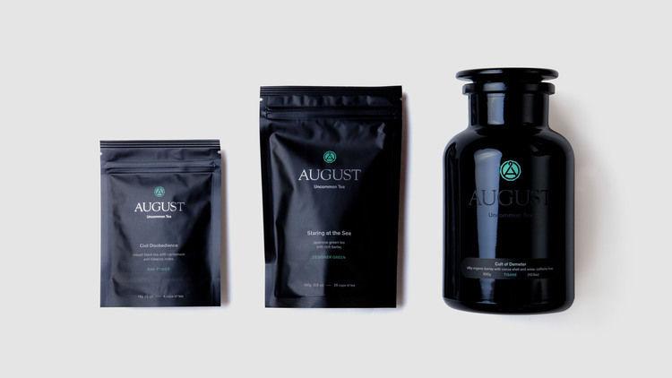 Ethereal Tea Branding