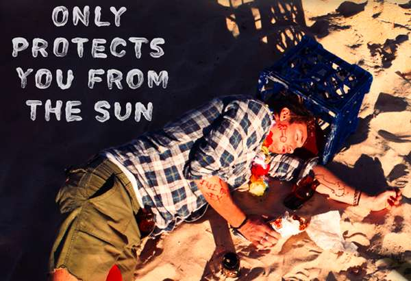 Australian Surfer Sunblock Ads