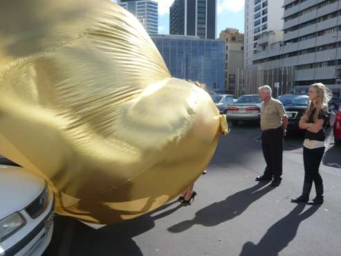 Golden Car Blankets