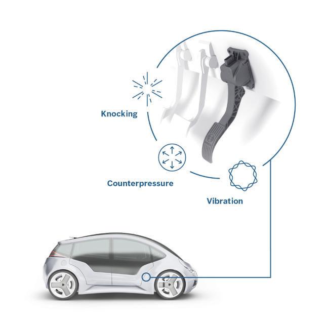 Haptic Auto Pedals