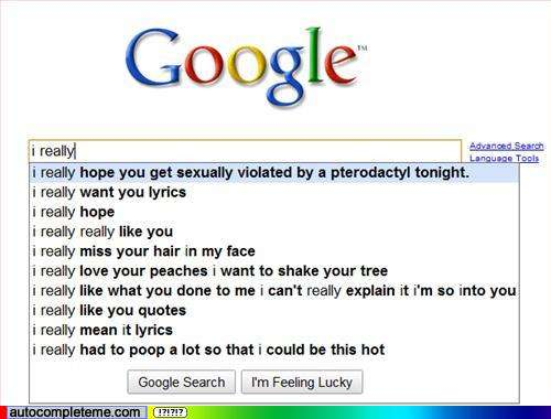 Google Search LOLs