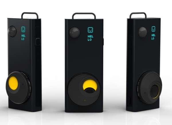 Compact Neck-Hung Cameras