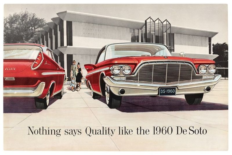 Retro Automobile Ad Collections