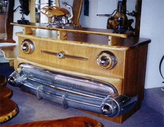 Car-Inspired Furniture