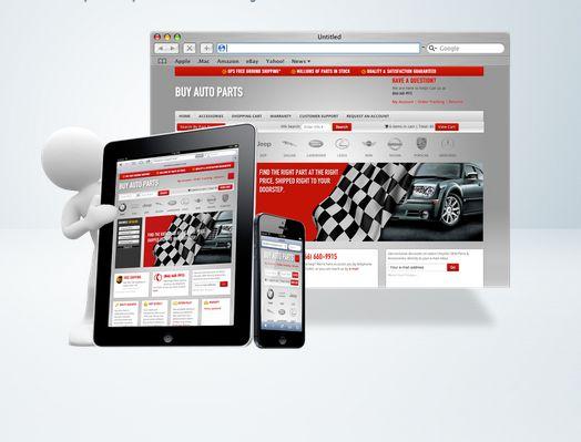 Automotive E-Commerce Templates