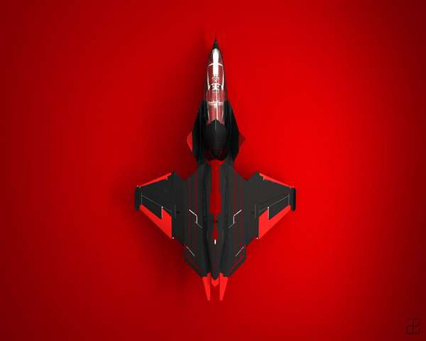 Futuristic Fighter Jets