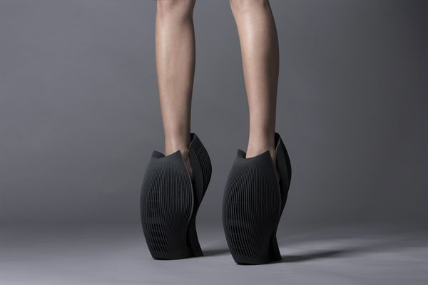 Sculptural Avant-Garde Shoes