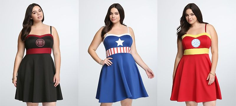 Superhero Clothing Collaborations