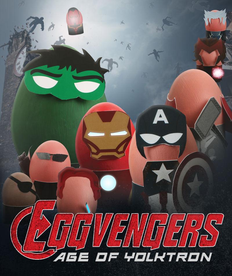 Superhero Egg Costumes : Avengers Easter Egg Costumes