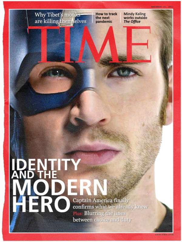 Faux Magazine Hero Covers