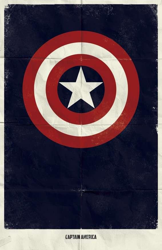Stripped-Down Superhero Emblems
