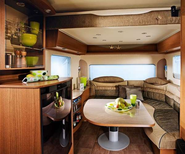 Expandable Travel Trailers >> Luxury Compact Caravans : Averso plus luxury caravan