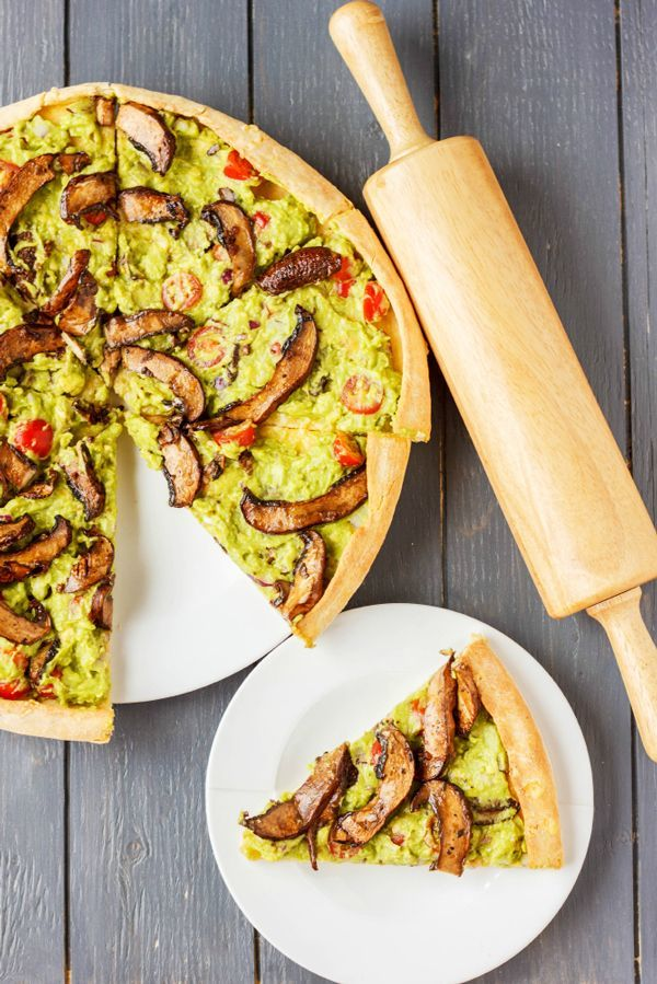 Guacamole Pizza Toppings