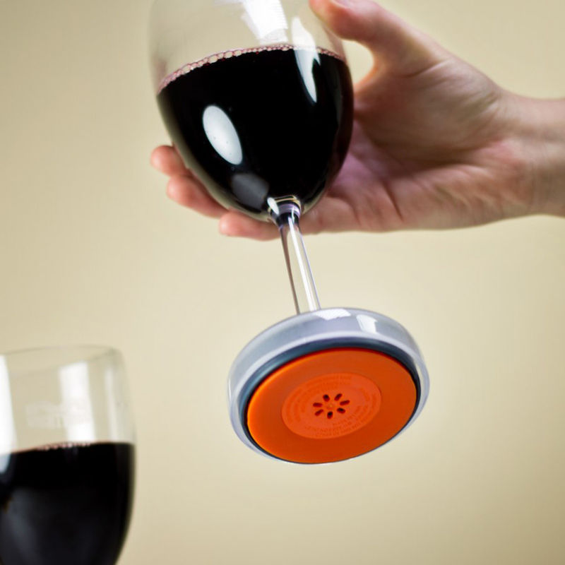 Tip-Proof Wine Glasses